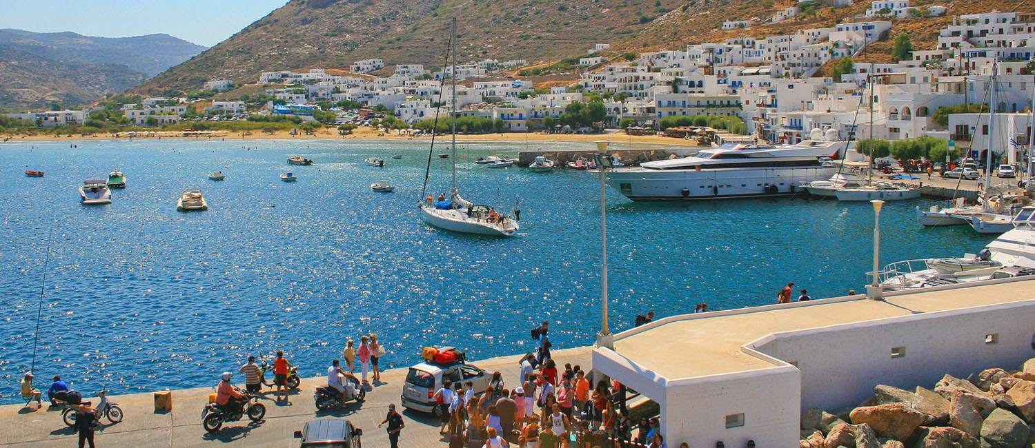 Enjoy your holidays in Sifnos